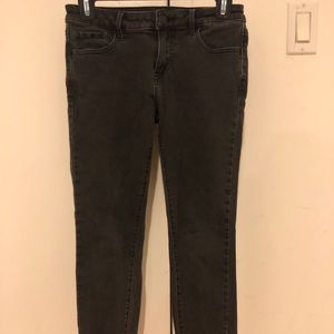 Uniqlo grey ankle jeans